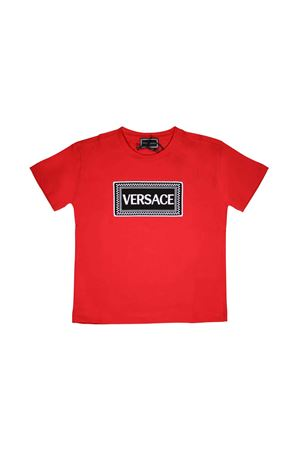 RED BOY YOUNG VERSACE T-SHIRT  YOUNG VERSACE | 8 | YVMTS255YJE131Y4778