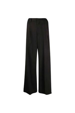 Pantaloni neri a gamba ampia MM6 Maison Margiela MM6 | 9 | S32KA0630S47848900