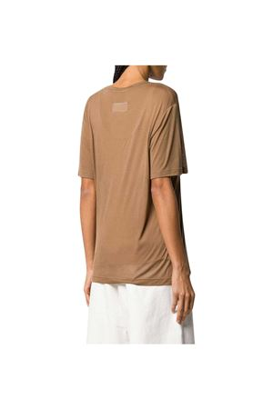 T-shirt beige con stampa MM6 Maison Margiela MM6 | 8 | S52GC0162S23683133