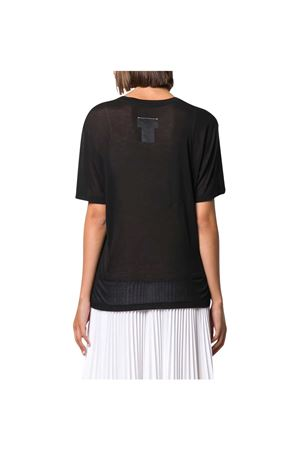 T-shirt nera con stampa MM6 Maison Margiela MM6 | 8 | S52GC0162S23683900