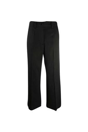 Pantaloni a gamba ampia crop MM6 Maison Margiela MM6 | 9 | S52KA0272S47848900