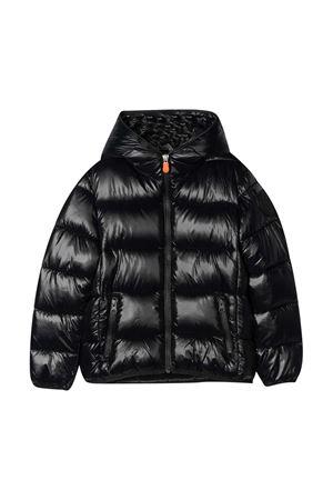 Black lightweight jacket teen Save The Duck kids  SAVE THE DUCK | 13 | J3128BLUCKY00001T
