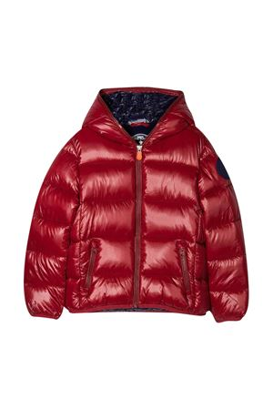Red lightweight jacket Save The Duck kids  SAVE THE DUCK | 13 | J3128BLUCKY01955