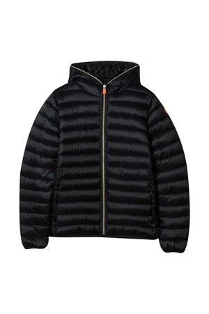 Black lightweight jacket teen Save The Duck kids  SAVE THE DUCK | 13 | J3231GIRISY00001T