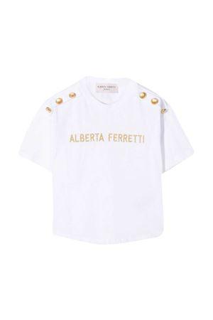 White t-shirt Alberta Ferretti Kids  Alberta ferretti kids | 8 | 025325002
