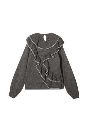 Gray teen sweater Alberta Ferretti Kids Alberta ferretti kids | 7 | 025402100T
