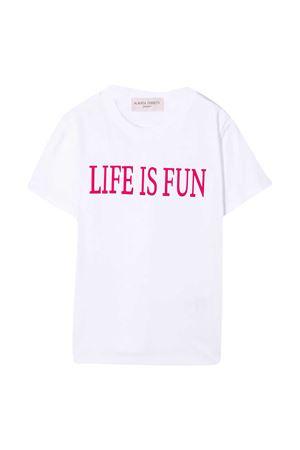 White t-shirt Alberta Ferretti Kids Alberta ferretti kids | 8 | 025419002