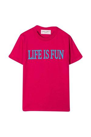 T-shirt fucsia teen Alberta Ferretti Kids Alberta ferretti kids | 8 | 025419044T