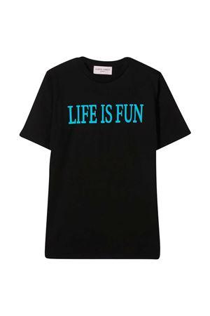 Black teen t-shirt Alberta Ferretti Kids  Alberta ferretti kids | 8 | 025419110T