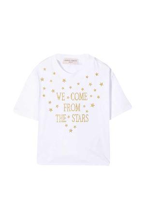 T-shirt bianca teen Alberta Ferretti Kids Alberta ferretti kids   8   026143002T