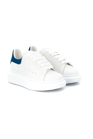 Sneakers bianche e blu Alexander McQueen Kids Alexander McQUEEN | 12 | 587691WHX129086