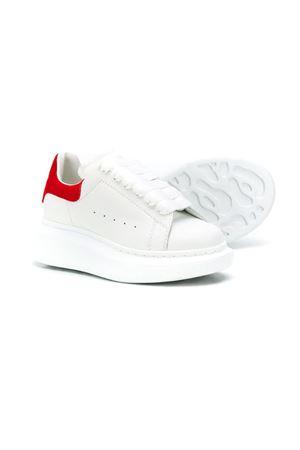 Sneakers bianche e rosse Alexander McQueen Kids Alexander McQUEEN | 12 | 587691WHX129676