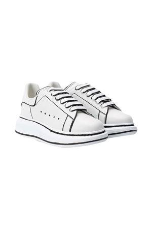White sneakers Alexander McQueen kids  Alexander McQUEEN | 12 | 634741WHX1L9061