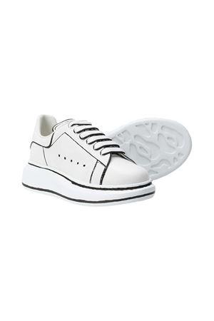 Sneakers bianche Alexander McQueen kids Alexander McQUEEN | 12 | 634741WHX1L9061