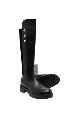 Balmain Kids black knee boots  BALMAIN KIDS | 12 | 6N0046NX400930