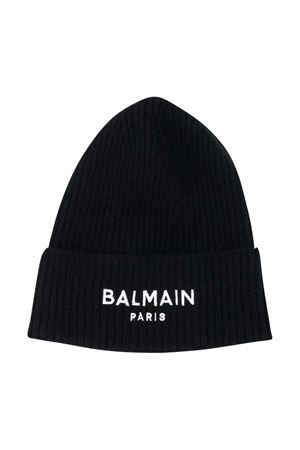 Black Balmain Kids cap  BALMAIN KIDS | 75988881 | 6N0687NE340930