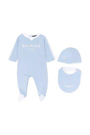 Baby blu kit Balmain kids BALMAIN KIDS | 75988878 | 6N0800NX310607