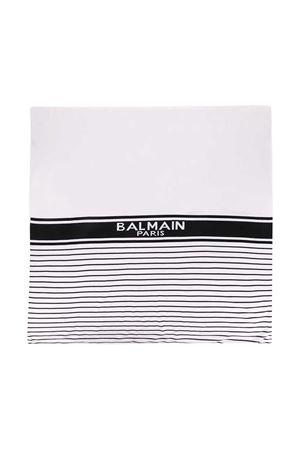 Balmain kids white blanket  BALMAIN KIDS | 69164127 | 6N0860ND480100NE