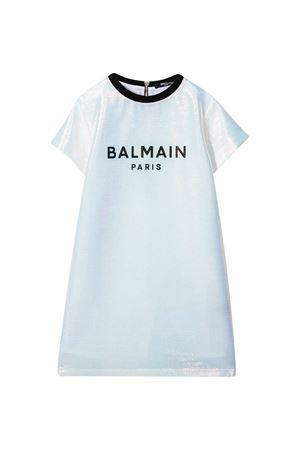 White dress Balmain kids  BALMAIN KIDS | 11 | 6N1041NB150005