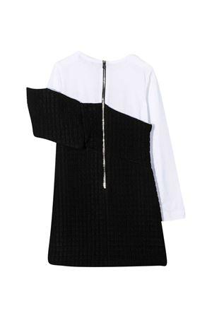 Vestito bianco e nero Balmain Kidsabito BALMAIN KIDS | 11 | 6N1160NB190930BC