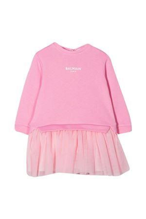 Abito rosa Balmain Kids BALMAIN KIDS | 11 | 6N1340NE060516
