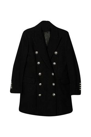 Black coat Balmain Kids BALMAIN KIDS | 17 | 6N2030ND870930