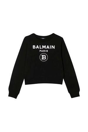 black sweatshirt Balmain kids  BALMAIN KIDS | -108764232 | 6N4010NX280930
