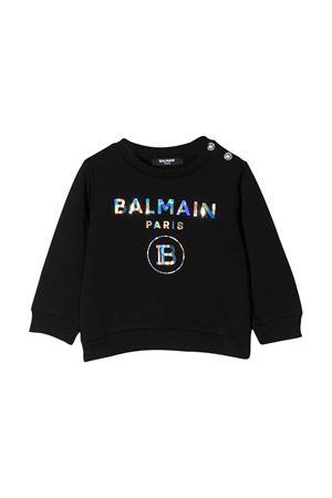 black sweatshirt Balmain kids  BALMAIN KIDS | -108764232 | 6N4300NX300930