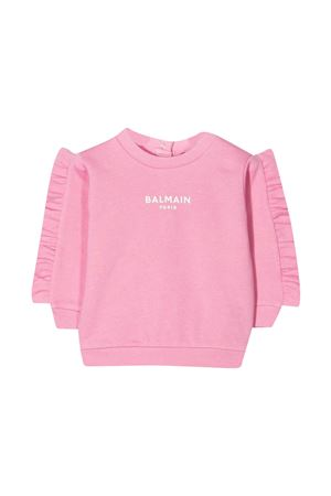 Felpa rosa Balmain Kids BALMAIN KIDS   -108764232   6N4310NX300516