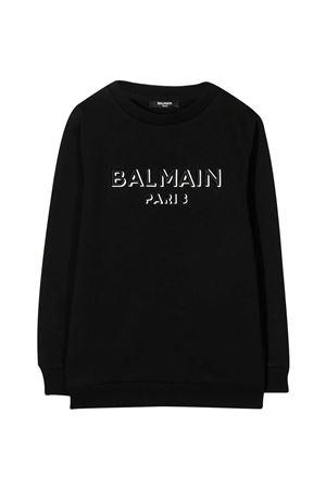 Felpa nera teen Balmain Kids BALMAIN KIDS | -108764232 | 6N4640NX300930T