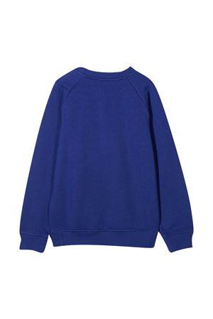 Blue sweatshirt with logo Balmain kids BALMAIN KIDS | -108764232 | 6N4700NX300616
