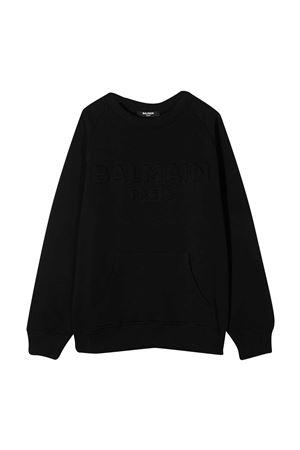 Black sweatshirt Balmain Kids  BALMAIN KIDS | -108764232 | 6N4700NX300930