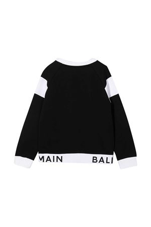 Black sweatshirt Balmain kids  BALMAIN KIDS   -108764232   6N4720NX300930BC