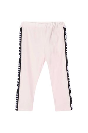 Pink baby trousers Balmain kids BALMAIN KIDS | 411469946 | 6N6300NX310515