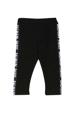 black baby trousers Balmain kids BALMAIN KIDS | 411469946 | 6N6300NX310930