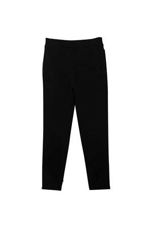 Pantaloni neri Balmain kids BALMAIN KIDS | 9 | 6N6537NX300930AG