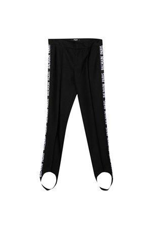Black leggings teen Balmain Kids  BALMAIN KIDS | 9 | 6N6720NF430930T