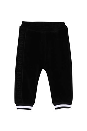 Black trousers baby Balmain Kids  BALMAIN KIDS | 9 | 6N6860NB430930