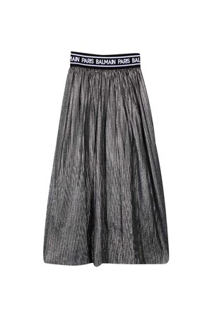 Silver skirt Balmain Kids  BALMAIN KIDS | 15 | 6N7010NX340930AG