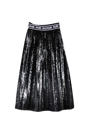 Black teen paillettes skirt Balmain kids BALMAIN KIDS | 15 | 6N7030NF110930T