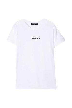 T-shirt bianca teen Balmain kids BALMAIN KIDS | 8 | 6N8031NX310100NET