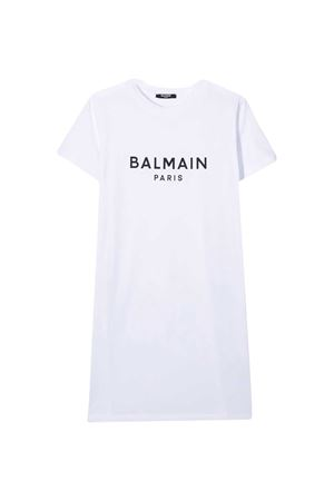 Abito bianco teen Balmain kids BALMAIN KIDS | 8 | 6N8081NC610100T