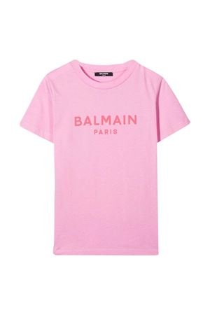 T-shirt rosa Balmain Kids BALMAIN KIDS | 8 | 6N8571NX290516