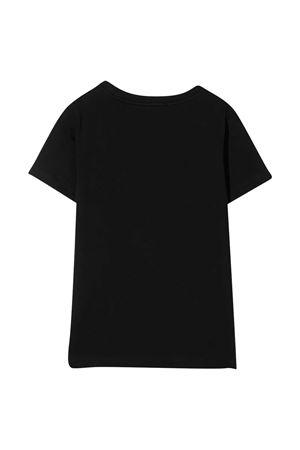 Black teen t-shirt with print Balmain kids BALMAIN KIDS | 8 | 6N8611NX310930NET
