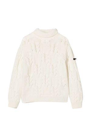 White sweater teen Balmain Kids  BALMAIN KIDS | 7 | 6N9590NF410101T