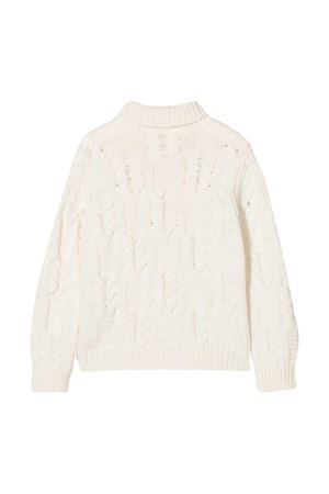 Maglione bianco teen Balmain Kids BALMAIN KIDS | 7 | 6N9590NF410101T