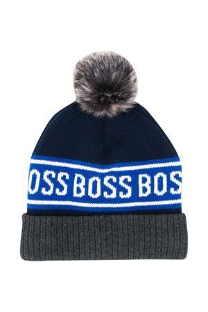 Berretto blu Boss Kids BOSS KIDS | 75988881 | J01112849