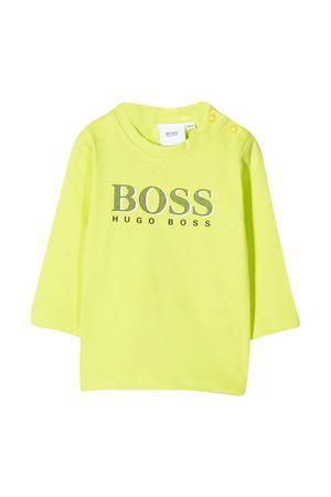 Acid green t-shirt Boss Kids  BOSS KIDS | 8 | J05795552