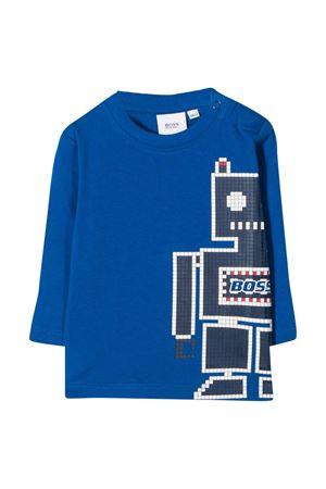 Maglia blu Boss Kids BOSS KIDS | 8 | J05799871