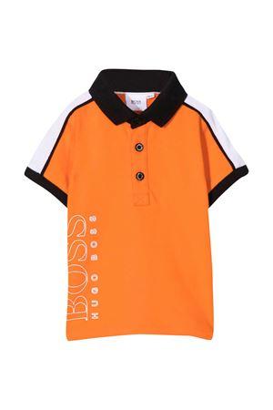 Orange polo shirt Boss Kids BOSS KIDS | 8 | J05802417
